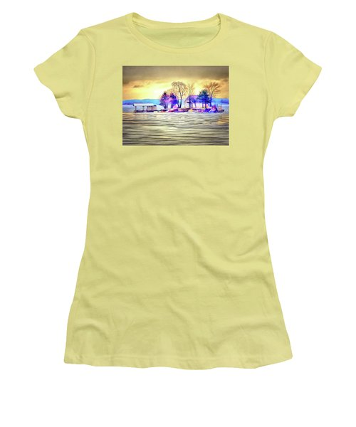 Island Life Women's T-Shirt (Athletic Fit)