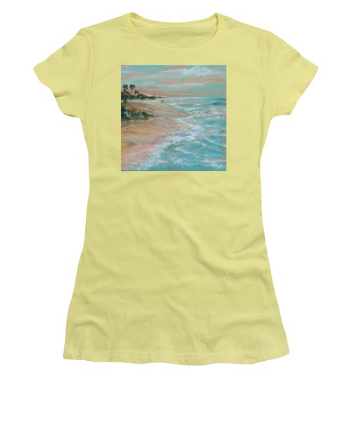 Island Romance Women's T-Shirt (Athletic Fit)
