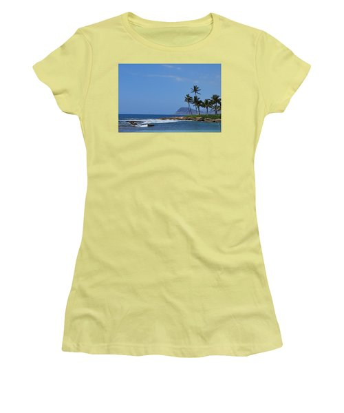 Island View Women's T-Shirt (Athletic Fit)