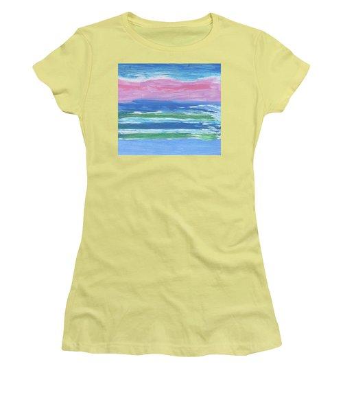 Isles  Women's T-Shirt (Junior Cut) by Don Koester