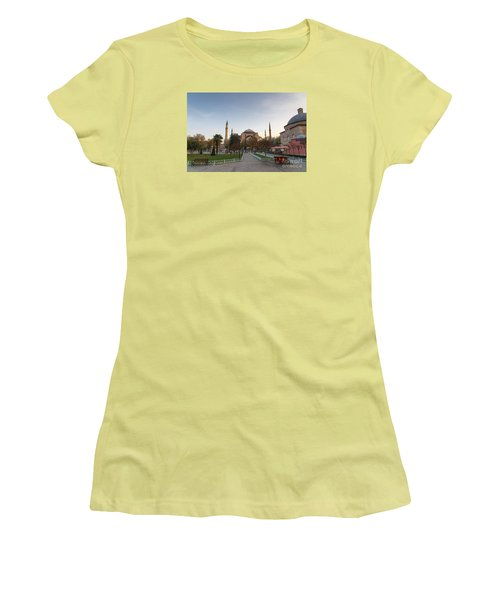 Istanbul City Center Women's T-Shirt (Junior Cut) by Yuri Santin
