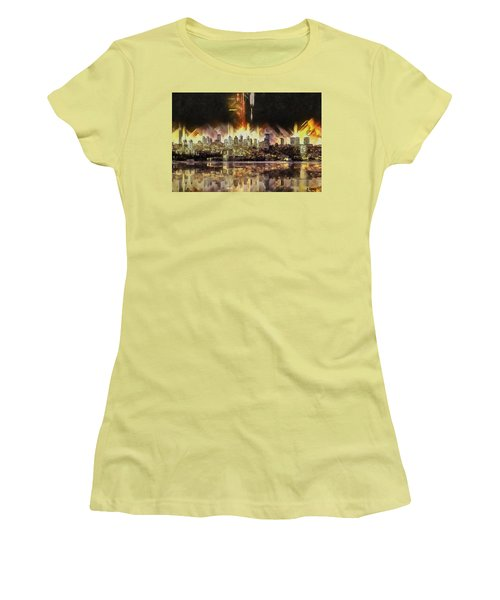 Istanbul In My Mind Women's T-Shirt (Junior Cut) by Kai Saarto