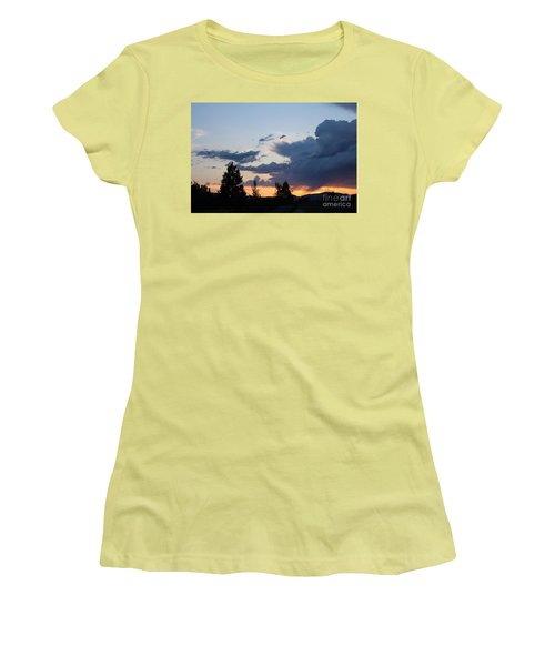 Women's T-Shirt (Athletic Fit) featuring the photograph It Cometh by Marie Neder