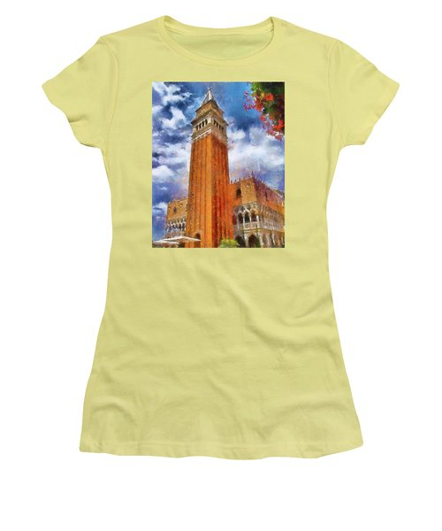 Italy In Florida Women's T-Shirt (Athletic Fit)