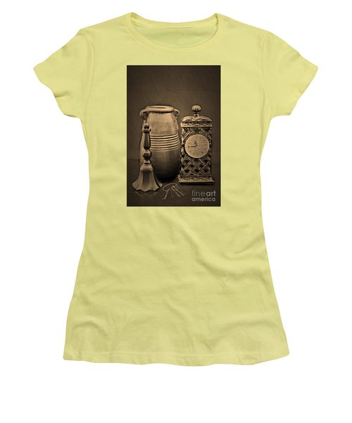 It's Time For... Women's T-Shirt (Junior Cut) by Sherry Hallemeier