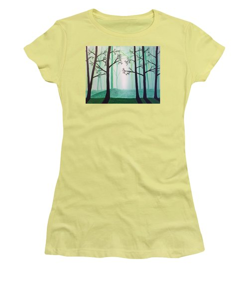 Jaded Forest Women's T-Shirt (Athletic Fit)