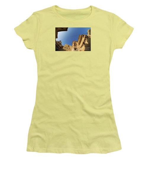 Women's T-Shirt (Athletic Fit) featuring the photograph Jaisalmer Fort by Yew Kwang