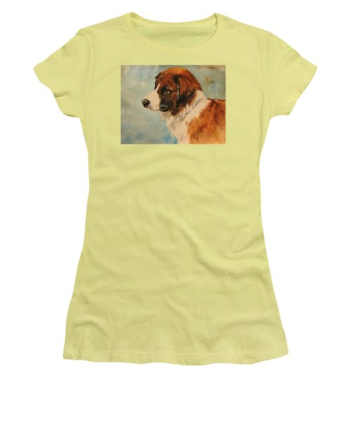 Jake Women's T-Shirt (Junior Cut) by Betty-Anne McDonald