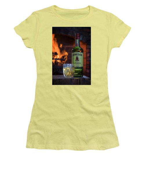 Jameson By The Fire Women's T-Shirt (Athletic Fit)