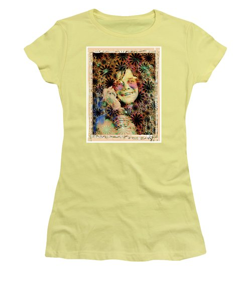 Janis Joplin Women's T-Shirt (Athletic Fit)