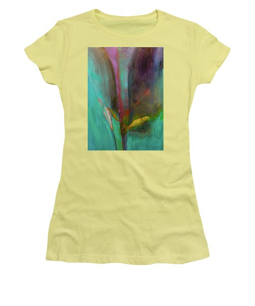 Japanese Longstem  Women's T-Shirt (Junior Cut) by Iconic Images Art Gallery David Pucciarelli