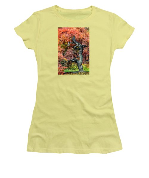 Japanese Maple - Aged To Perfection Women's T-Shirt (Athletic Fit)