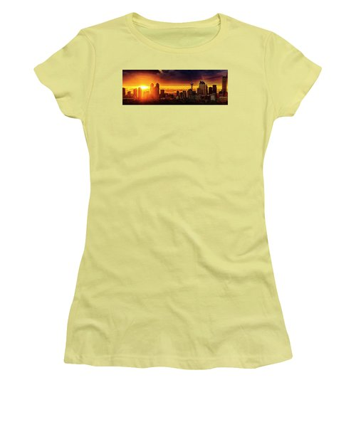 Women's T-Shirt (Junior Cut) featuring the photograph Jewel Of The Foothills by John Poon