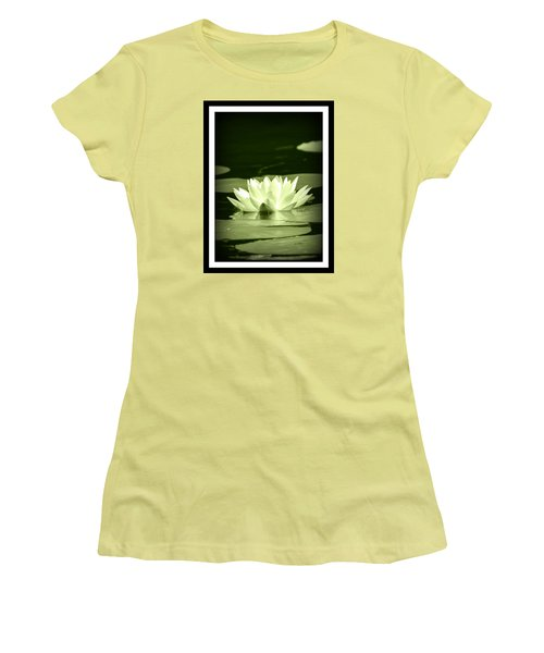 Jewel Of The Pond Women's T-Shirt (Athletic Fit)