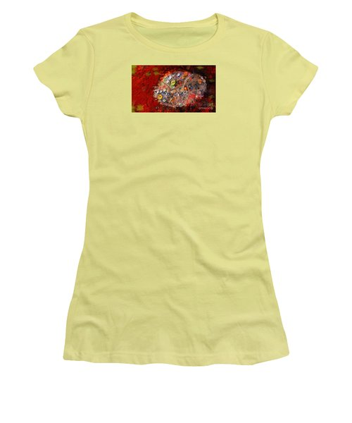 Jewels And The Japanese Maple Women's T-Shirt (Athletic Fit)
