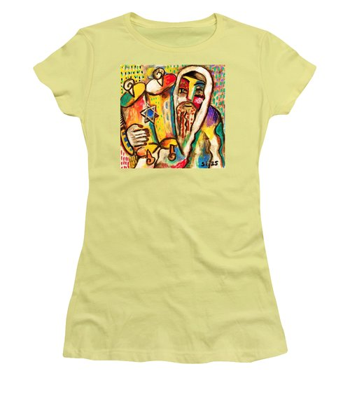 Jewish Celebrations Rejoicing In The Torah Women's T-Shirt (Athletic Fit)