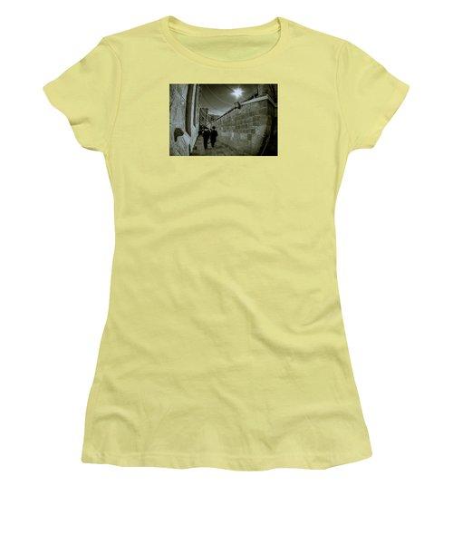 Jewish Promenade Women's T-Shirt (Athletic Fit)