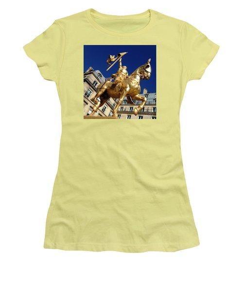 Joan Of Arc - Paris Women's T-Shirt (Junior Cut) by Therese Alcorn
