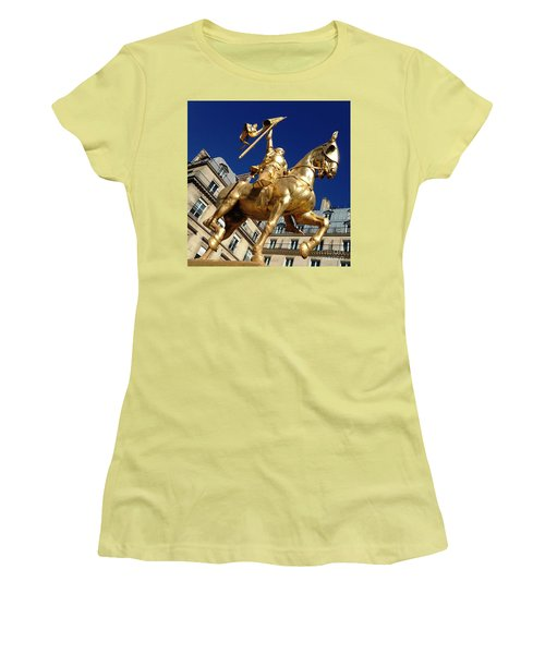 Joan Of Arc - Paris Women's T-Shirt (Athletic Fit)