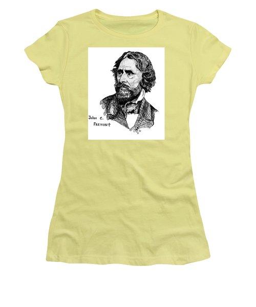 John C. Fremont Women's T-Shirt (Athletic Fit)