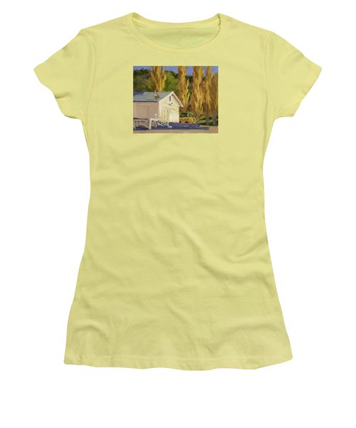 John Deere Women's T-Shirt (Junior Cut) by Jane Thorpe