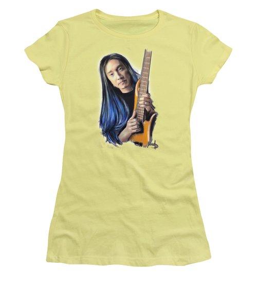 John Myung Women's T-Shirt (Junior Cut) by Melanie D