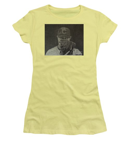 Jon Lester Portrait Women's T-Shirt (Athletic Fit)