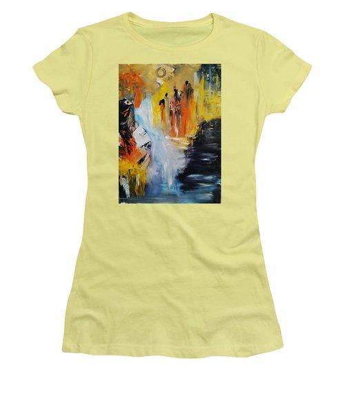Jordan River Women's T-Shirt (Junior Cut) by Kelly Turner