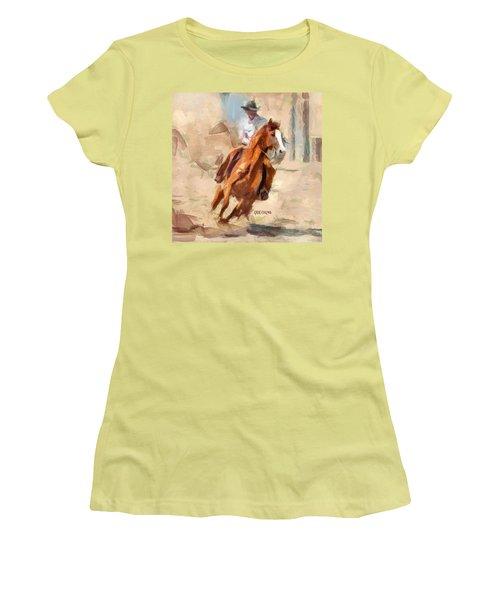 Joy Ride Women's T-Shirt (Junior Cut) by Greg Collins