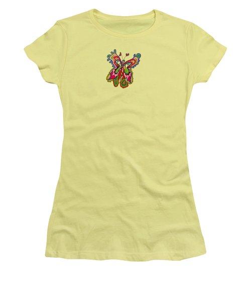 Joyful Flight - Iv Women's T-Shirt (Athletic Fit)
