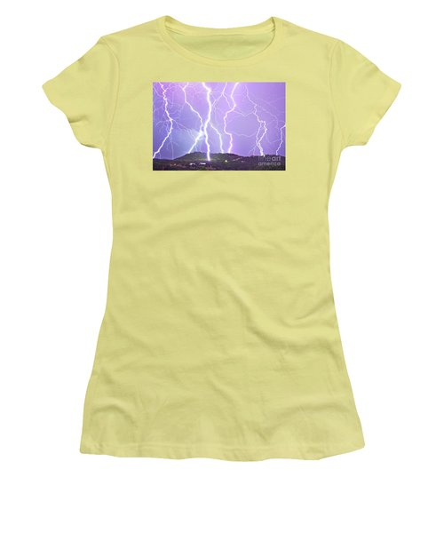 Judgement Day Lightning Women's T-Shirt (Athletic Fit)