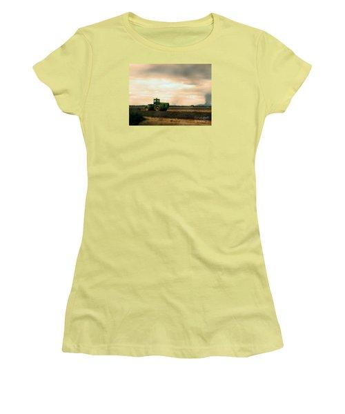 Just A John Deere Memory Women's T-Shirt (Junior Cut) by Janie Johnson