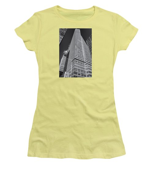 Women's T-Shirt (Junior Cut) featuring the photograph Just Another Skyscraper 2 by Sabine Edrissi