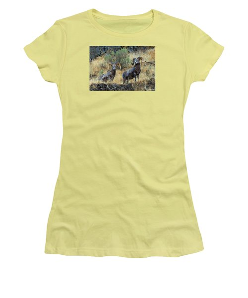 Just Us Women's T-Shirt (Athletic Fit)
