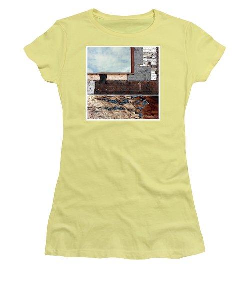 Juxtae #94 Women's T-Shirt (Junior Cut) by Joan Ladendorf