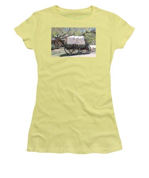 K L Bar Wagon Women's T-Shirt (Athletic Fit)