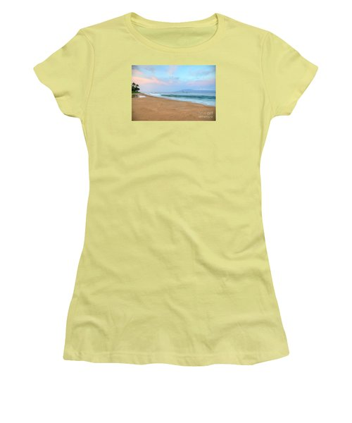 Women's T-Shirt (Junior Cut) featuring the photograph Ka'anapali Delight  by Kelly Wade