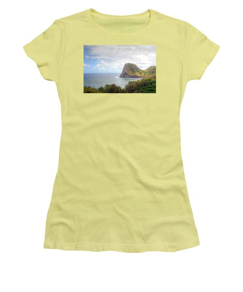 Kahakuloa Head Women's T-Shirt (Athletic Fit)