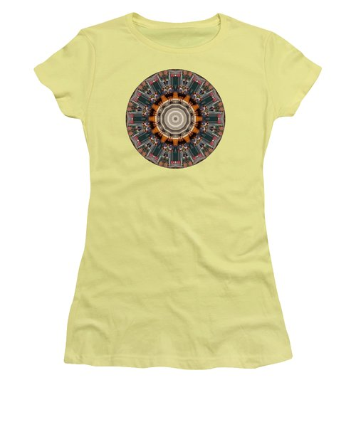 Women's T-Shirt (Junior Cut) featuring the photograph Kaleidos - Ptown04 by Jack Torcello