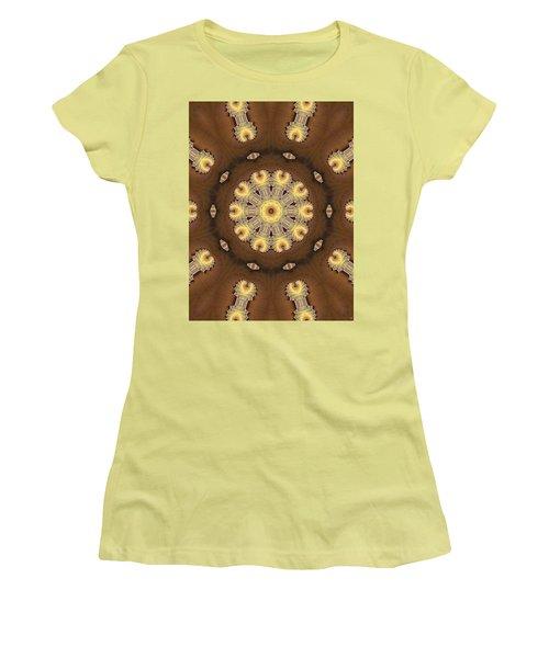 Kaleidoscope 125 Women's T-Shirt (Junior Cut) by Ron Bissett