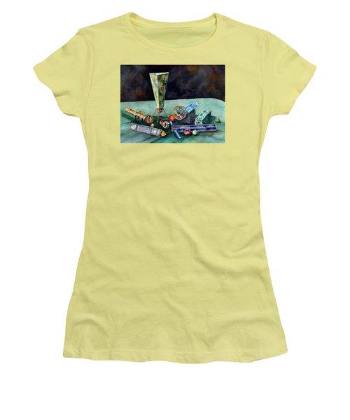 Kaleidoscopes Women's T-Shirt (Athletic Fit)