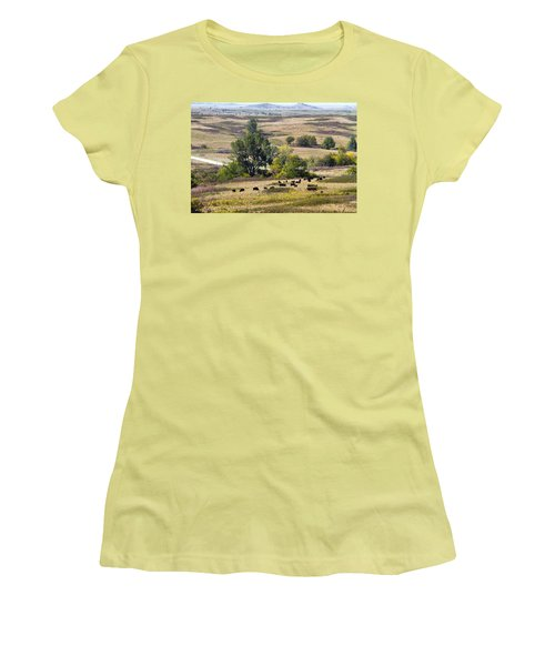 Kansas Plains  Women's T-Shirt (Athletic Fit)