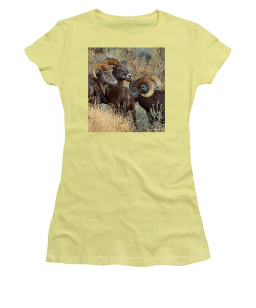 Keep An Eye On Him... Women's T-Shirt (Athletic Fit)