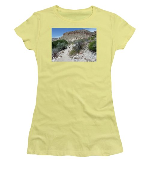 Women's T-Shirt (Junior Cut) featuring the photograph Kershaw-ryan State Park by Joel Deutsch