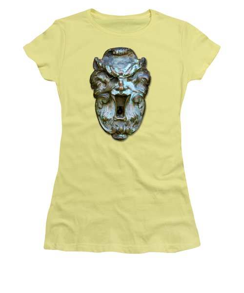 Keyhole To My Heart Women's T-Shirt (Athletic Fit)