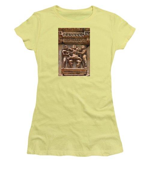 Khajuraho Temples 5 Women's T-Shirt (Athletic Fit)