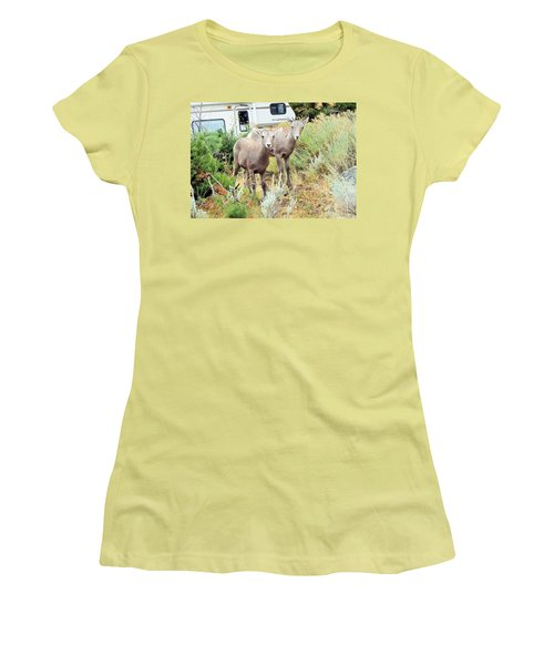 Kid Goats Women's T-Shirt (Athletic Fit)
