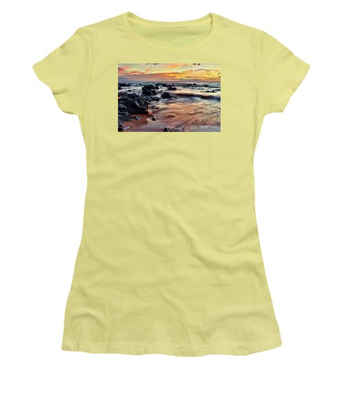 Kihei Sunset Women's T-Shirt (Athletic Fit)