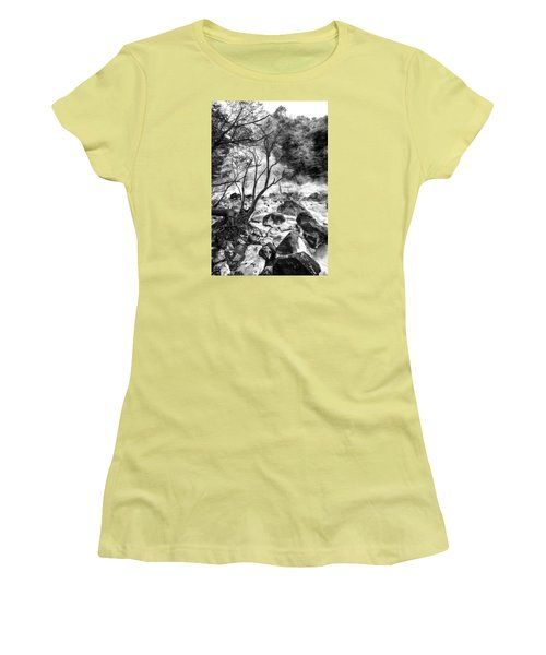Women's T-Shirt (Junior Cut) featuring the photograph Kirishima by Hayato Matsumoto