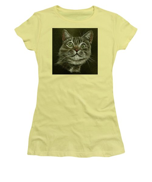 Kitty Cat Women's T-Shirt (Athletic Fit)